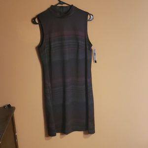 NWT AB Studio M Sheath Dress Sleeveless (pockets)